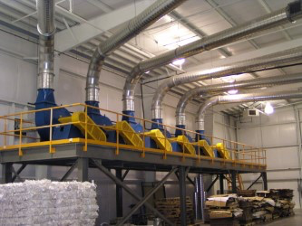 Air Systems Design Separator Systems for the best, most efficient pneumatic conveying systems.