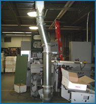 Bindery Installations in Pneumatic Conveying Systems Design