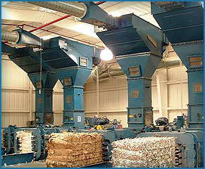 Folding Carton Installation with Bale Segregation